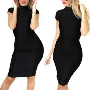 Fashion Nova X Cardi B straight Stuntin Midi Dress